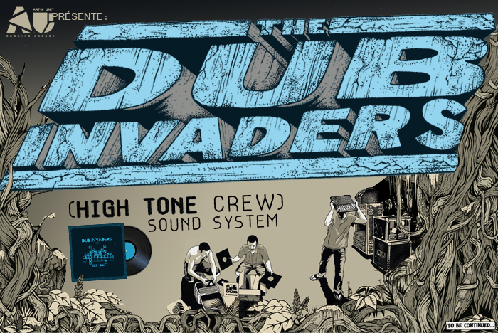 High Tone Crew Sound System jako Dub Invaders