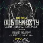 Dub Dynasty (Alpha Steppa/Alpha&Omega) – dub senses&dubmassive.org b-day
