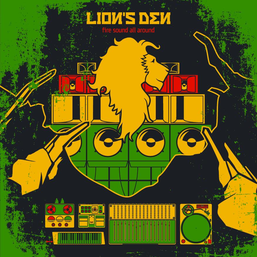 Lions Den - Soundbwoy Haffi Run EP