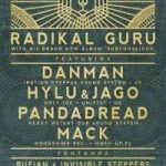 Dub Club Trójmiasto – Radikal Guru Album launch ft Dan Man, Hylu & Jago // 15.11.2013 // Sopot