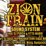 Zion Train feat. Fitta Warri & DJ Bass Reprodukktor Xiądz Maken I // 9.11.2013 // Bydgoszcz
