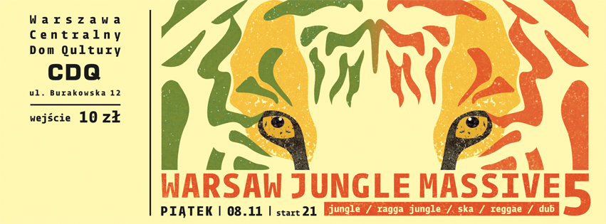 warsaw jungle massive 5 - baner internet