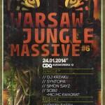 Warsaw Jungle Massive #6 // 24.01.2014 // Warszawa