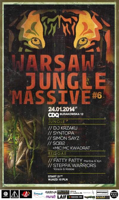 2014.01.24 Warsaw Jungle Massive 6 Warszawa CDQ
