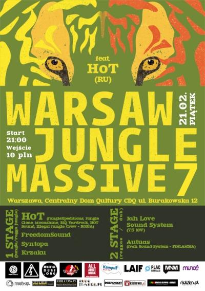2014.02.21 Warsaw Jungle Massive 7 feat. HoT (Rosja) Warszawa CDQ