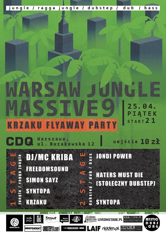 2014.04.25 Warsaw Jungle Massive 9 Warszawa CDQ