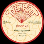 """Bass Culture Players – """"Live in harmony"""" (12"""")"""