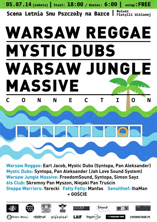 warsaw reggae - mystic dubs - warsaw jungle massive - connection
