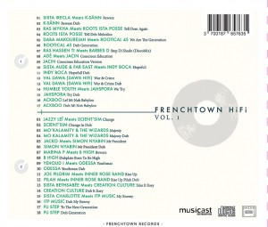 tracklisting Frenchtown HiFi vol.1