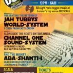 University of Dub – Jah Tubbys, Channel One, Aba Shanti-I // 25.07.2014 // London
