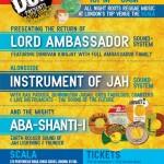 University of Dub presents Roots Dance Balance – Lord Ambassador, Instrument of Jah, Aba Shanti-I // 24.10.2014 // London