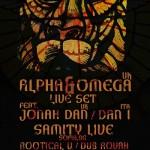 Dub Temple #62 – Alpha&Omega live // 15.11.2014 // Kraków