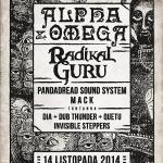 Dub Club Trójmiasto – Alpha&Omega, Radikal Guru, Pandadread Sound System, Mack