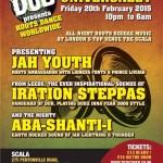 University of Dub – Jah Youth, Iration Steppas, Aba Shanti-I // 20.02.2015 // London