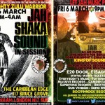 Jah Shaka Sound System In Session // 07.03.2015 // London
