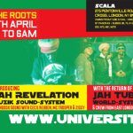 University of Dub – Jah Revelation Muzik Sound System, Jah Tubbys World System, Aba Shanti-I // 24.04.2015 // London