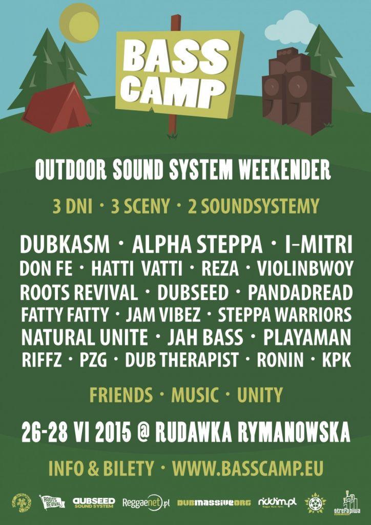 Bass Camp // 26-28.06.2015 // Rudawka Rymanowska