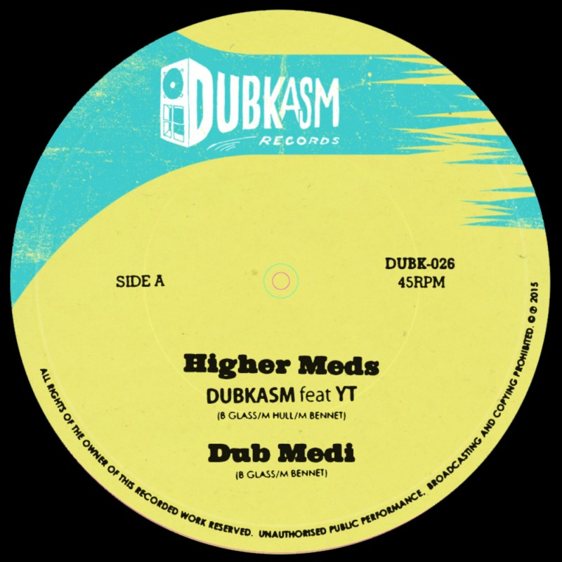 "Dubkasm feat. YT and Rudey Lee – ""Higher Meds / Coming in Ruff"""