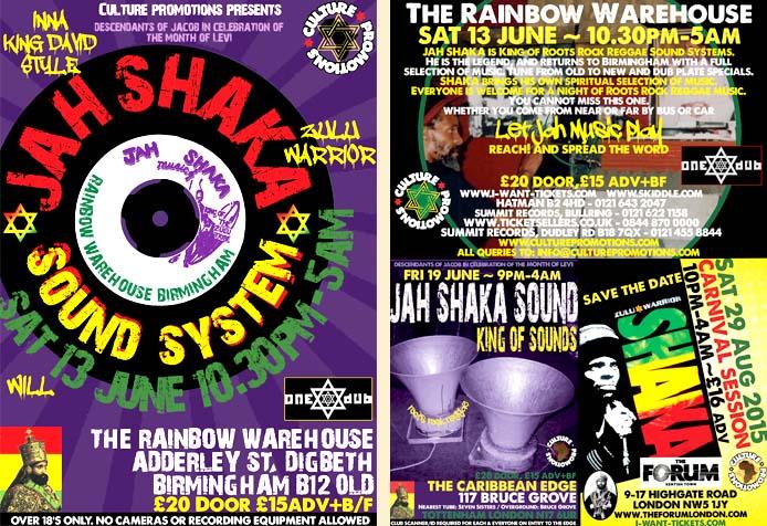 Jah Shaka Sound System // 13.06.2015 // Birmingham