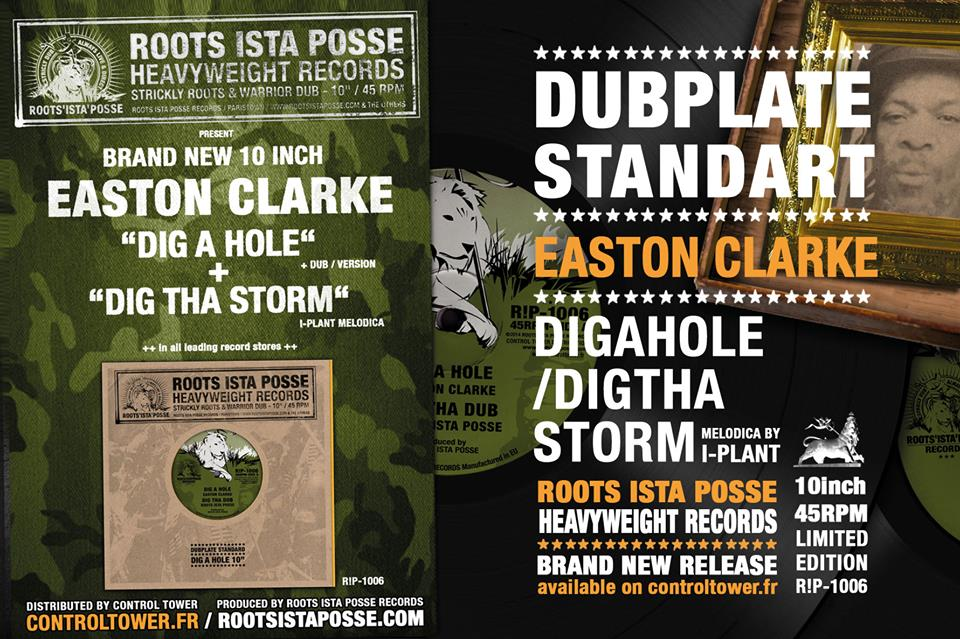 "Roots Ista Posse & Easton Clarke – ""Dig A Hole/Dig Tha Storm"""