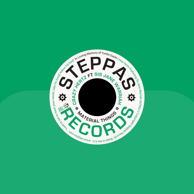 "Crazy Hertz – ""Material Things"" (Steppas Records)"