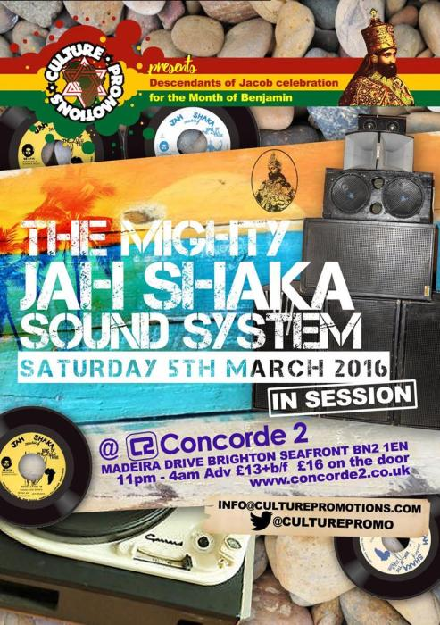 Jah Shaka Sound // 5.03.2016 // London