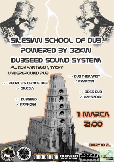 Silesian School Of Dub powered by 32kW Dubseed Sound System // 11.03.2016 // Tychy