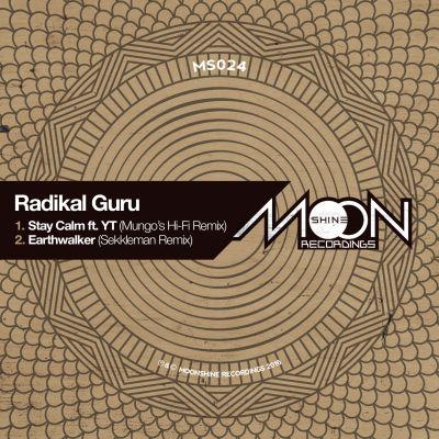"[Recenzja] Radikal Guru ""Stay Calm"" ft. YT (Mungo's Hi-Fi remix) / ""Earthwalker"" (Sekkleman remix) – Moonshine Recordings"