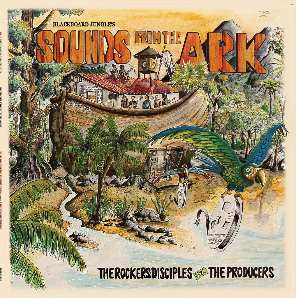 """[Review] """"Sounds From The Ark"""" – The Rockers Disciples meet The Producers"""
