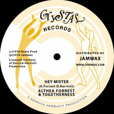 "[Release Info] ""Hey Mister"" – Althea Forrest & Togetherness (Jamwax)"