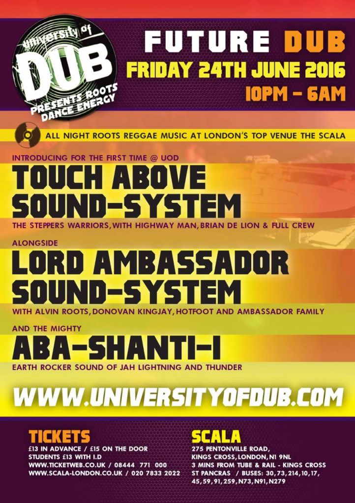 [Event] University of Dub – Future Dub // 24.06.2016 // London