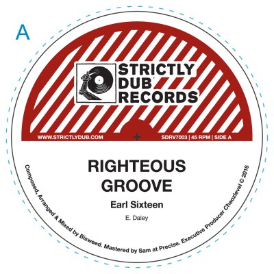 "[Release info] Earl 16 / Bisweed / Chaozlevel – ""Righteous Groove"" (Strictly Dub Records)"