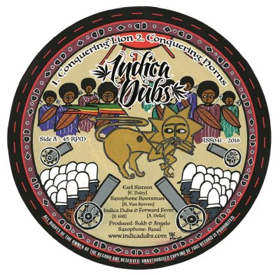 """[Release info] Earl Sixteen – """"Conquering Lion"""" / Danman – """"Jah Guide & Protect"""" (Indica Dubs)"""
