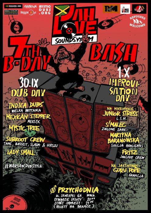 [Impreza] Jah Love Soundsystem 7th Earthstrong Bash