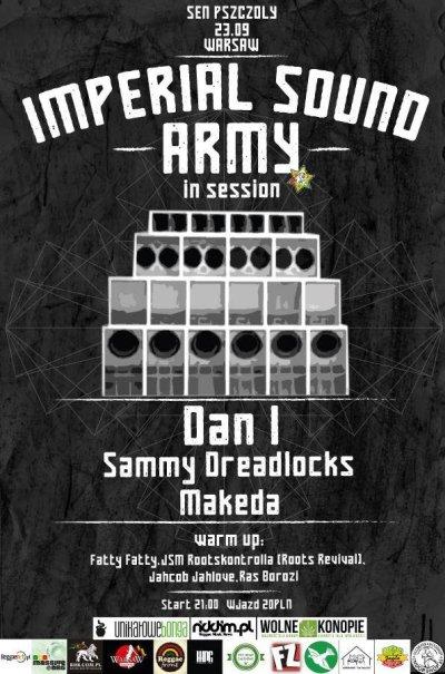 [Impreza] Imperial Sound Army in session // 23.09.2016 // Warszawa