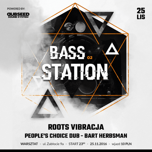 [Impreza] Connection to Foundations presents: Bass Station 02 // 25.11.2016 // Kraków