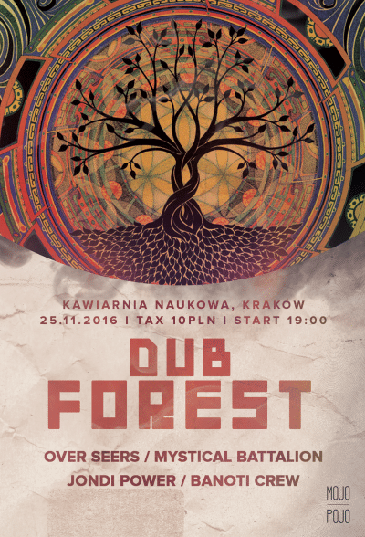 [Impreza] Dub Forest #1 / 25.11.2016 / Kraków