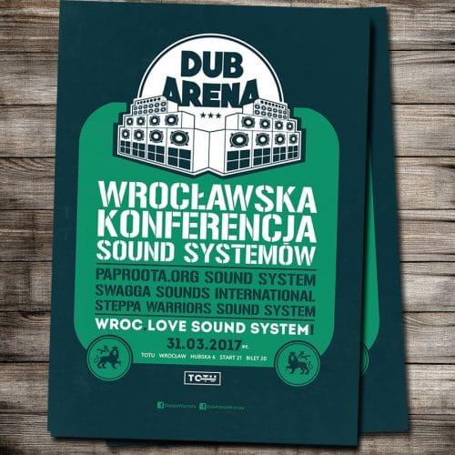 [Impreza] Dub Arena #6 – wrocławska konferencja sound systemów // 31.03.2017 // Wrocław