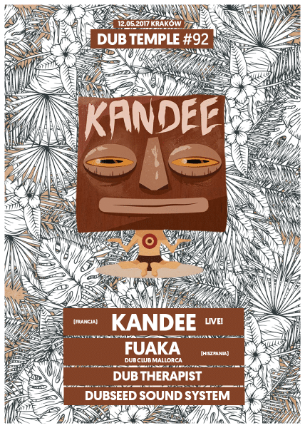 [Impreza] Dub Temple #92 – Kandee / 15.05.2017 / Kraków