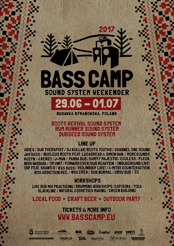 [Impreza] Bass Camp 2017 / 29.06-01.07.2017 / Rudawka Rymanowska